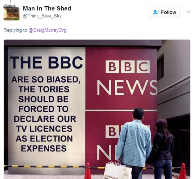 BBC man in shed
