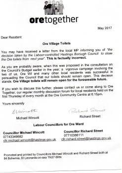 "Councillors response to Rudd's ""factually incorrect"" letter"