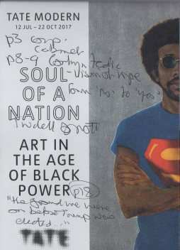 Art in the age of black power leaflet (with my notes all over it)