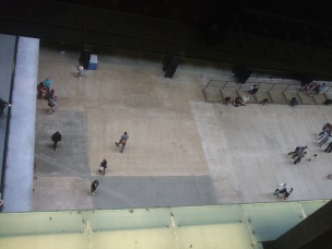 people in turbine hall2