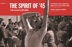 Poster for 'the spirit of '45' by Ken Loach.