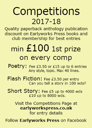 Competitions 2017-2018 - am Earlyworks Press calling card