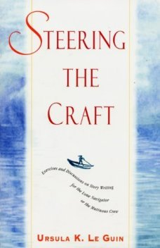 Steering the craft by Ursula K Le Guin - cover pic
