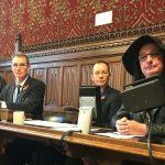 Miranda Yardley at the parliamentary consultation on GRA