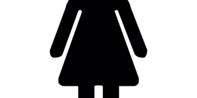 'ladies' toilet logo