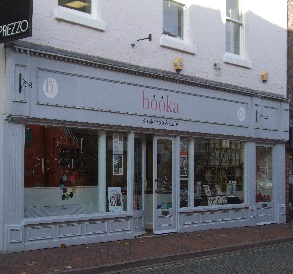 Booka shop front, Oswestry