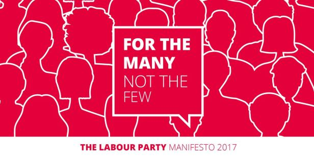 For the Many Not the Few - Labour Party manifesto 2017 cover image