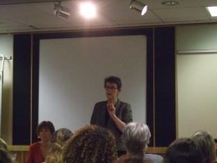 Ann Henderson speaking at CLPD