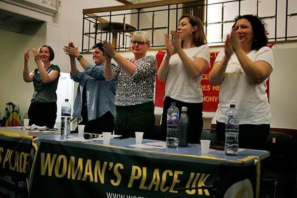The panel at 'A Woman's Place is Back in Town