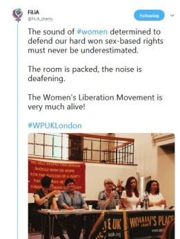 FiLiA tweet from the meeting