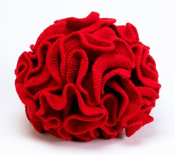 Crochetted hyperbolic plane