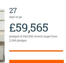 Crowdfunder day 3 £59k