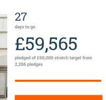 Crowdfunder day 3 £59k