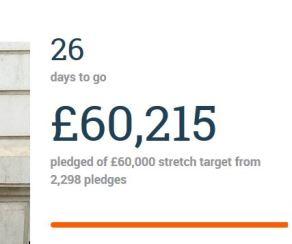 Crowdfunder day 4 £60k