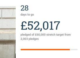 Crowdfunder day two £52k