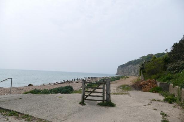 A mysterious gate on the beach