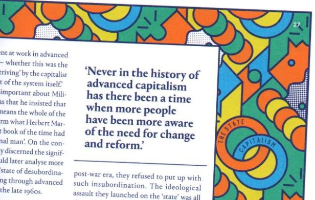 """Snip from Tribune mag: """"Never in the history of advanced capitalism has there been a time when more people have been more aware of the need for change and reform"""""""