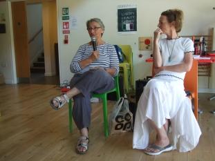 Councillors Leah Levane and Tania Charman