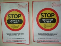 Poster: stop universal credit