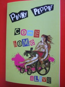 """Penny's poetry book, """"Come Home Alive"""""""