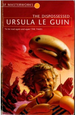 The Dispossessed by Ursula Le Guin - cover pic