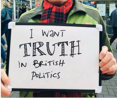 I want TRUTH in British politics