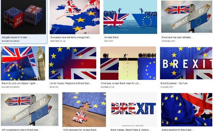 3 years of Brexit images