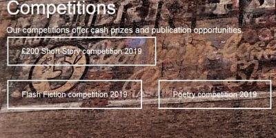 Earlyworks Press competitions page banner