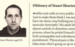 Mughsot of Stuart, published with his obituary