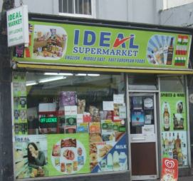 IDEAL supermarket, Queens Road