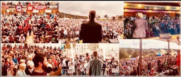 Corby rally photos