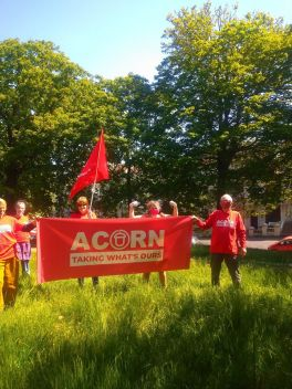Local ACORN team 'taking what's ours'