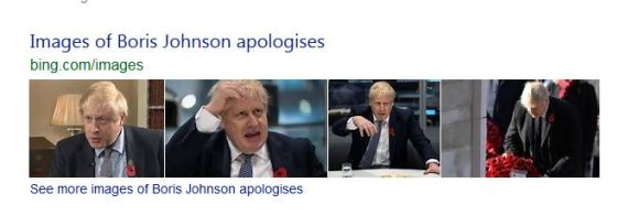 Boris Johnson attempts an apology