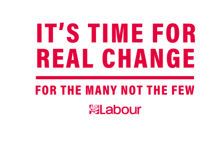 "Labour Manifesto ""It's time for real change"""