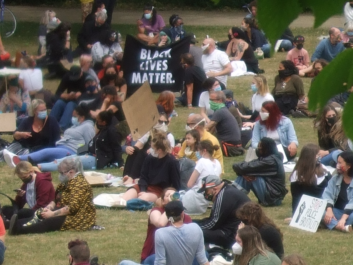 Black Lives Matter, Hastings, June 2020