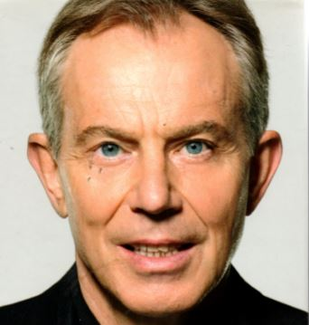 Tony Blair mugshot